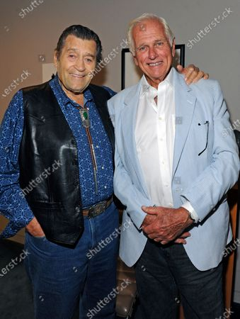 Clint Walker and Ron Ely