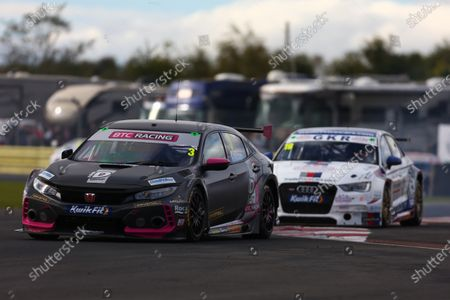 CROFT CIRCUIT, UNITED KINGDOM - OCTOBER 11: Tom Chilton (GBR) - BTC Racing Honda Civic Type R during the Croft at Croft Circuit on October 11, 2020 in Croft Circuit, United Kingdom. (Photo by LAT Images)