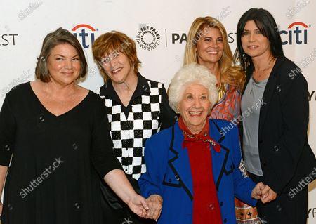 Mindy Cohn, Geri Jewell, Charlotte Rae, Lisa Welchel and Nancy McKeon