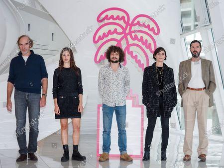 Michel Vuillermoz, Daphne Patakia, Quentin Dolmaire, Geralgine Pailhas and Melvil Poupeau