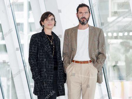Geraldine Pailhas and Melvil Poupeau