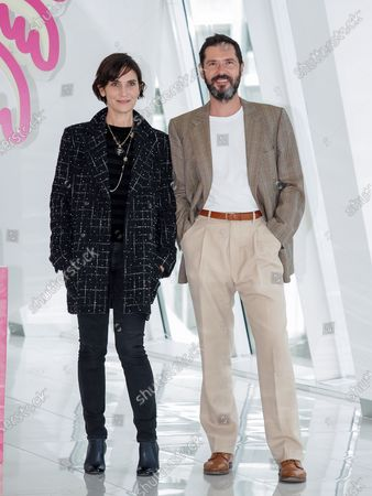 "Editorial image of ""Ovni(s)"" photocall, 3rd Canneseries, France - 11 Oct 2020"