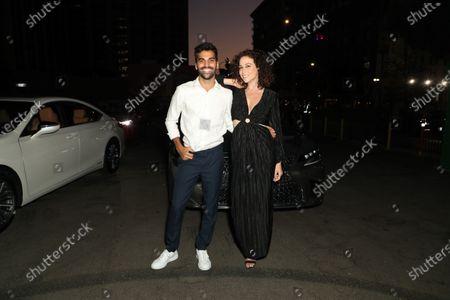 Stock Image of Shira Lazar and Andy Lalwani