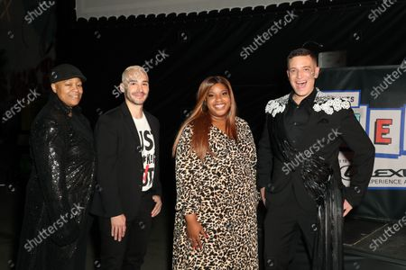 Stock Picture of LaShawn McGhee, Christopher J. Rodriguez, Alia J. Daniels and Damian Pelliccione