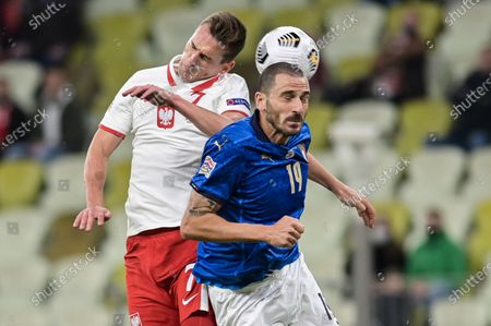 Editorial picture of Poland Vs Italy in Gdansk, Poland - 11 Oct 2020