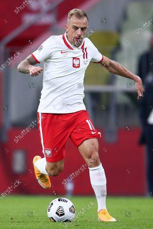 Editorial image of Poland v Italy, UEFA Nations League football, Gdansk, Poland - 11 Oct 2020