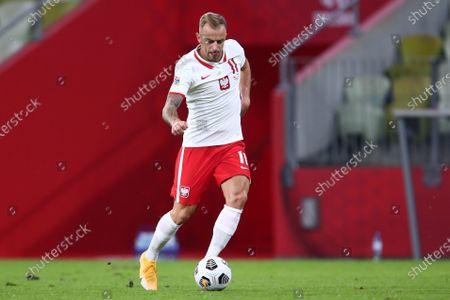 Editorial photo of Poland v Italy, UEFA Nations League football, Gdansk, Poland - 11 Oct 2020
