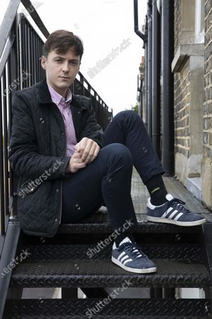 Editorial image of Darren Grimes photoshoot, London, UK - 10 Oct 2020