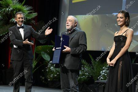 Ezio Greggio, Nino Frassica, Denise Popper