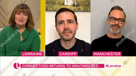 Lorraine Kelly, Gareth Pierce, Daniel Brocklebank