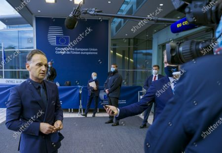 Editorial photo of Belgium EU Russia, Luxembourg, Luxembourg - 12 Oct 2020