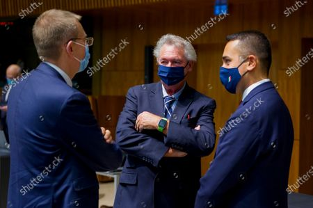 Editorial photo of EU Foreign Affairs Council in Luxembourg - 12 Oct 2020