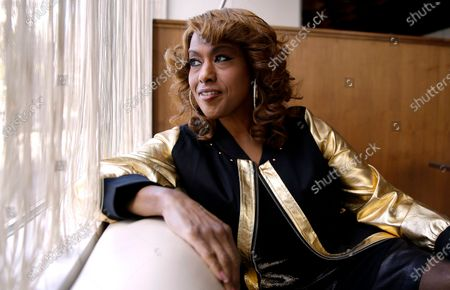 Actress and singer Jennifer Holliday during an interview in Atlanta. Holliday turns 60 on Oct. 19