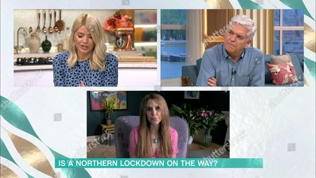 Phillip Schofield, Holly Willoughby, Emma Kenney