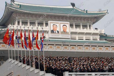 Editorial photo of Party Congress, Pyongyang, North Korea - 12 Oct 2020