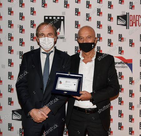 Editorial photo of Claudio Bisio, BAFF Lifetime Achievement Award 2020, Busto Arsizio, Italy - 12 Oct 2020