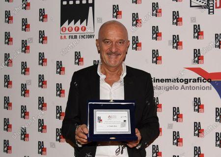 Editorial image of Claudio Bisio, BAFF Lifetime Achievement Award 2020, Busto Arsizio, Italy - 12 Oct 2020