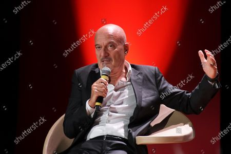 Editorial picture of Claudio Bisio, BAFF Lifetime Achievement Award 2020, Busto Arsizio, Italy - 12 Oct 2020