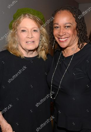 Stock Image of Angie Dickinson and S. Epatha Merkerson