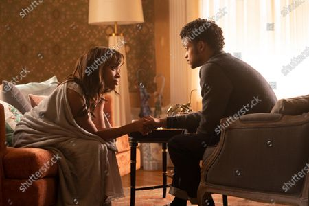 Nicole Beharie as Annie and Marquis Rodriguez as George