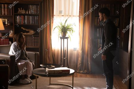 Stock Picture of Nicole Beharie as Annie and Marquis Rodriguez as George