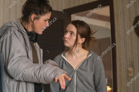 Anne Sewitsky Director and Kaitlyn Dever as Toni