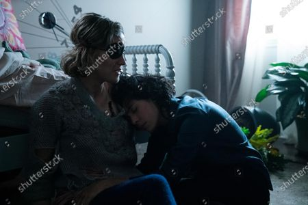 Taylor Schilling as Kate Feldman and Roberta Colindrez as Shawn Greene