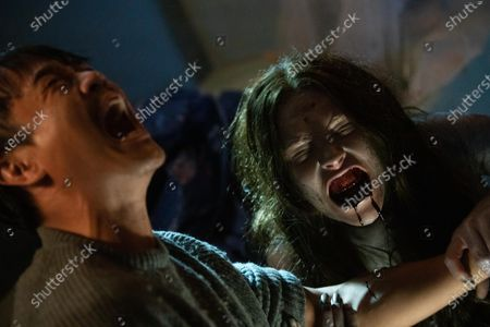 Trieu Tran as Sharko and Adria Arjona as Dana/Mermaid