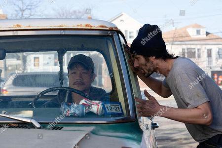 Trieu Tran as Sharko and Tyson Ritter as Breezy