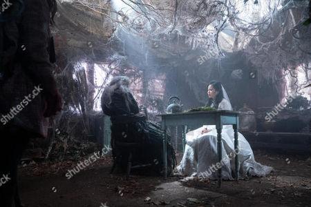 Joy Osmanski as Faye/Old Hag and Kelly Marie Tran as Lauren