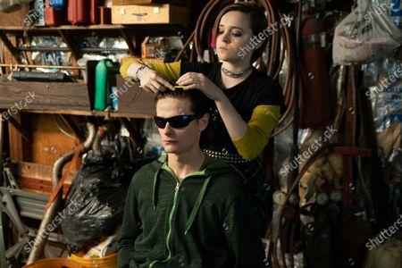Charlie Tahan as Nick and Nadia Alexander as FinalGirl