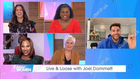 Editorial image of 'Loose Women' TV Show, London, UK - 12 Oct 2020