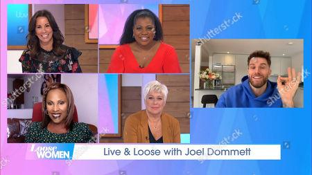 Stock Photo of Andrea McLean, Brenda Edwards, Kelle Bryan, Denise Welch, Joel Dommett
