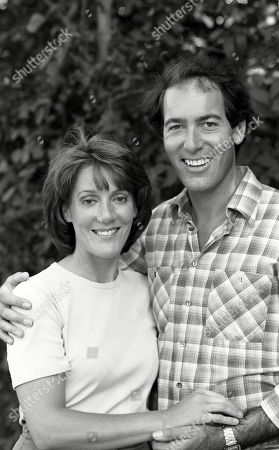 Emmerdale Farm - 1981 Patricia Merrick, as played by Helen Weir; and Jack Sugden, as played by Clive Hornby