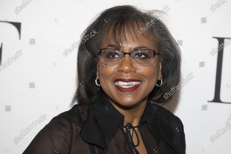 Stock Picture of Anita Hill attends the 10th annual DVF Awards in New York on . Hill, Neil Gaiman and Ann Patchett will be among the contributors to Book the Vote, an online initiative to provide information on the electoral system, voting registration and civic topics. Book the Vote (bookthevote.com) is a collaboration among Penguin Random House, PEN America, the non-profit organization When We All Vote and the literary retailer Out of Print, which is owned by Penguin Random House