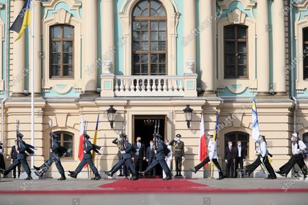 Editorial picture of President Andrzej Duda visits Ukraine, Kiev, Poland - 12 Oct 2020