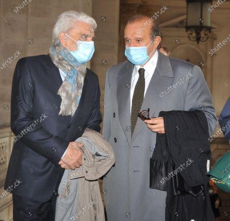 Editorial image of Bernard Tapie tribunal, Paris, France - 12 Oct 2020