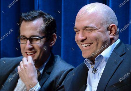 Stock Image of Nicholas Wooton and Nick Santora