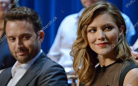 Eddie Kaye Thomas and Katharine McPhee