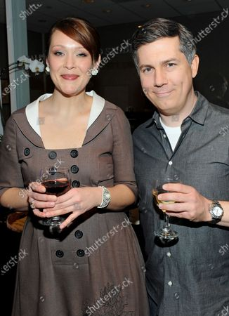 Amber Nash and Chris Parnell