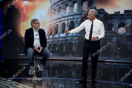 Savatore Buzzi and Massimo Giletti