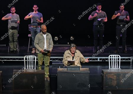 Editorial photo of The Wallis Annenberg Center for Performing Arts Presents a Staged Reading of 'The Basic Training of Pavlo Hummel', Beverly Hills, California, USA - 08 Mar 2020
