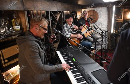Stock Image of Exclusive-  Kix Brooks stops by the Circle Television Network, 'Phil Vassar's Songs from the Cellar'