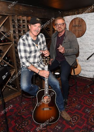 Exclusive-  Kix Brooks stops by the Circle Television Network, 'Phil Vassar's Songs from the Cellar'