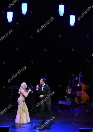 Editorial picture of The Wallis Presents 'Megan Hilty and Cheyenne Jackson', Los Angeles, USA - 25 Jan 2020