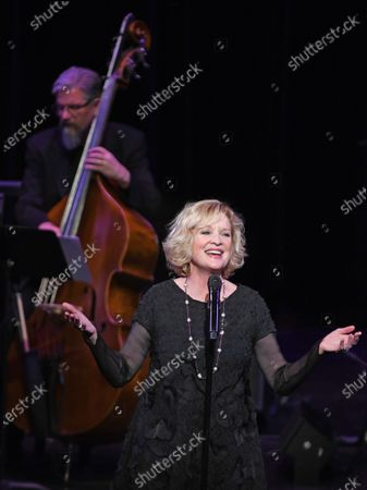 Editorial photo of The Wallis and Mark Cortale Present 'An Evening with Christine Ebersole' Los Angeles, USA- 28 Feb 2020