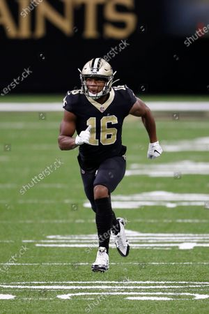 New Orleans Saints wide receiver Bennie Fowler (16) during an NFL football game against the Los Angeles Chargers, in New Orleans