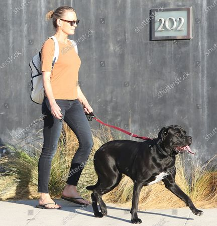 Editorial photo of Robin Wright goes out and about, Los Angeles, USA - 12 Oct 2020
