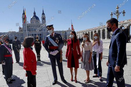 Editorial photo of Spanish National Day military parade at Royal Palace, Madrid, Spain - 12 Oct 2020