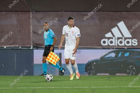 Fabian Schar (SUI) - Football / Soccer : UEFA Nations League group stage for final tournament Group A4 Matchday 3 between Spain 1-0 Switzerland at the Estadio Alfredo Di Stefano in Madrid, Spain.